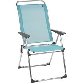 Lafuma Mobilier Alu Cham Krzesło kempingowe z Cannage Phifertex, alu brut/lac